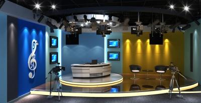 四川音乐学院虚拟演播室