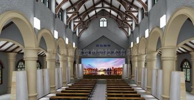 泸州天主教堂声学改造