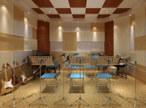 录音棚建筑声学处理设计、施工及工程安装